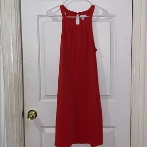 Red Loose Dress